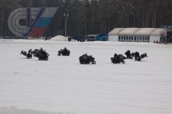 Соревнование по скоростному маневрированию на автодроме ФСО России